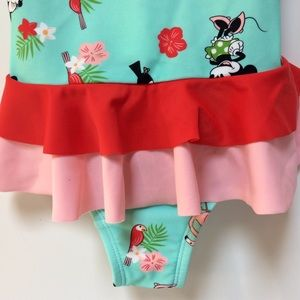 Hanna Andersson Swim - Hanna Andersson Minnie Mouse Swimsuit Size 120/6-7